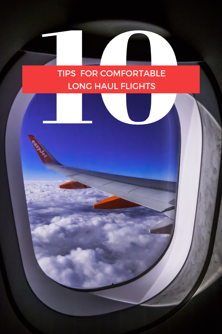 10 Tips for Comfortable Long Haul Flights