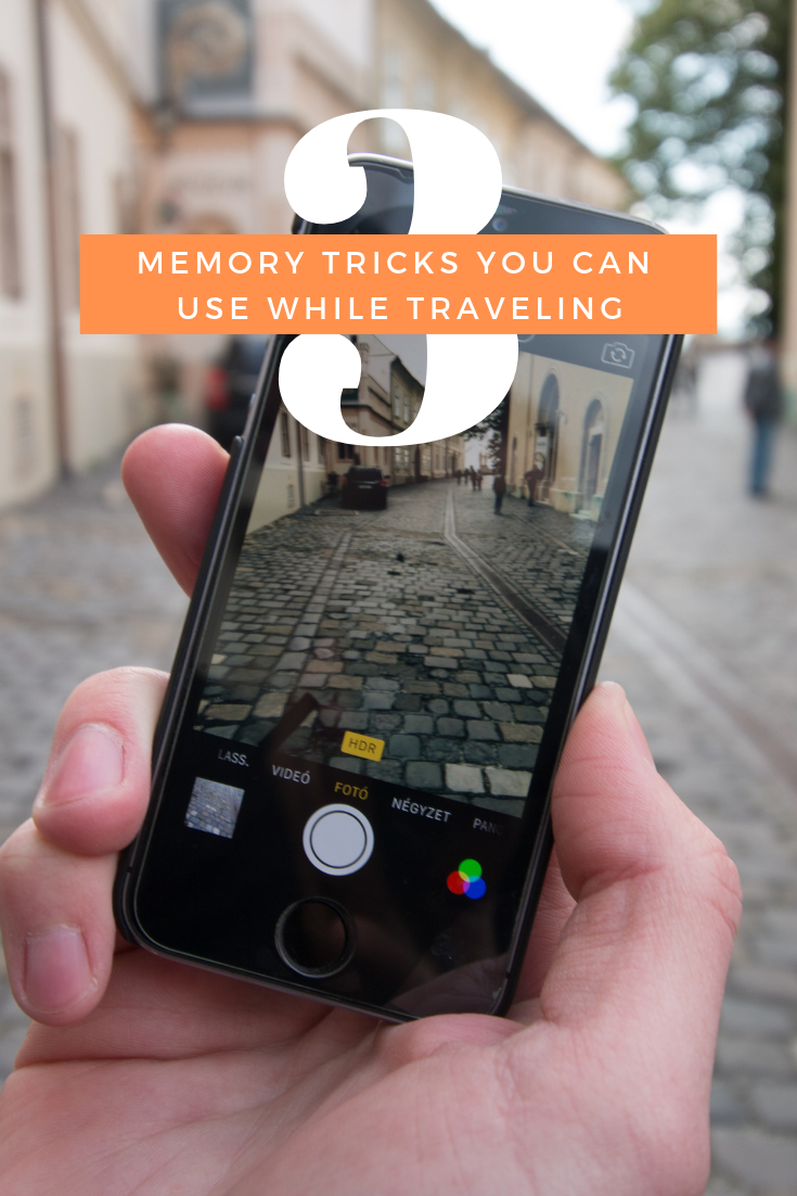 3 Memory Tricks You Can Use While Traveling