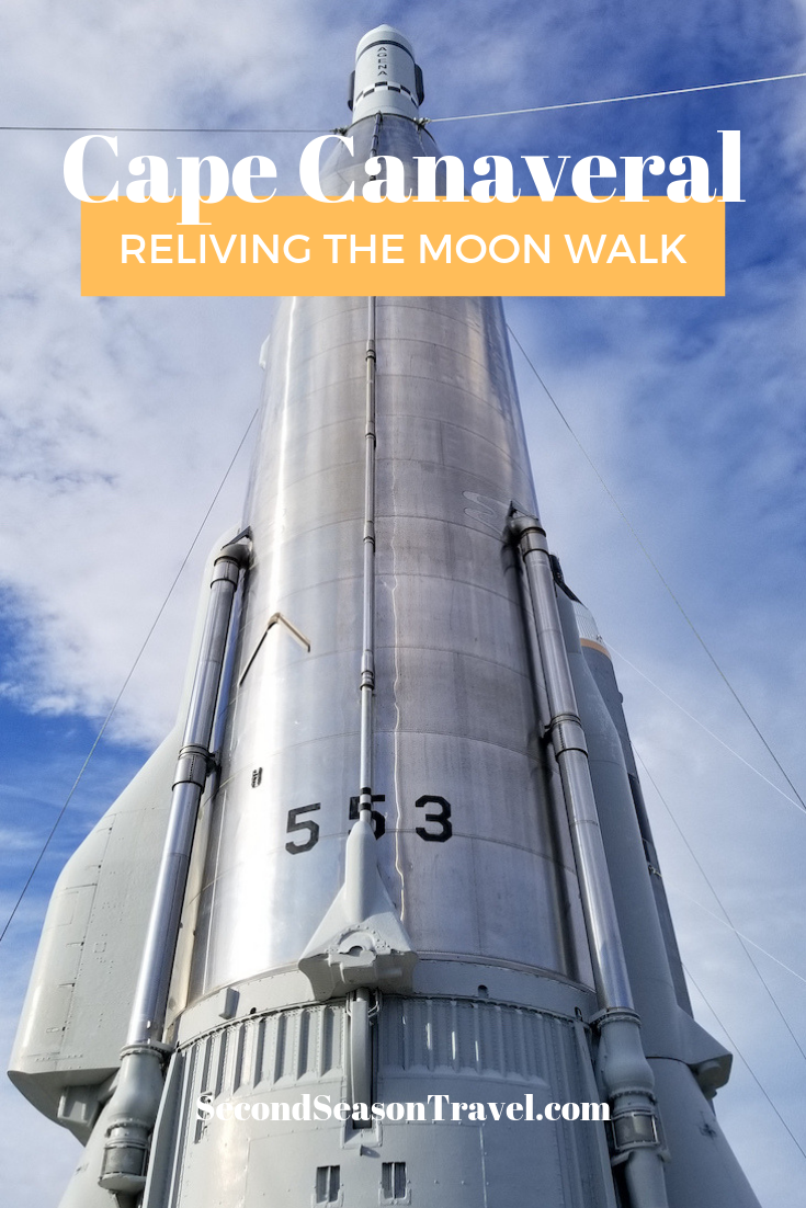 Reliving the Moon Walk at Cape Canaveral