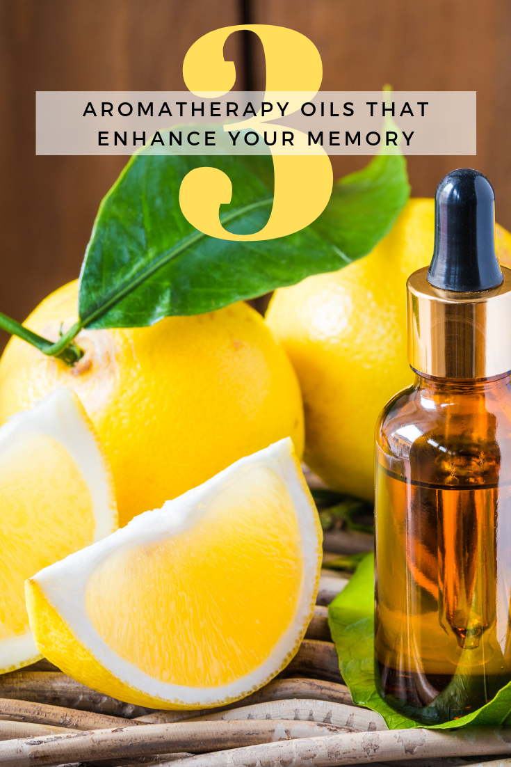 3 Aromatherapy Oils That Enhance Your Memory