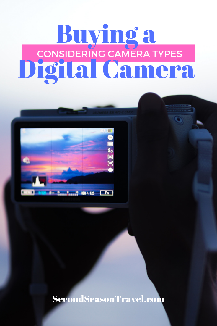 Buying A Digital Camera - Considering Camera Types