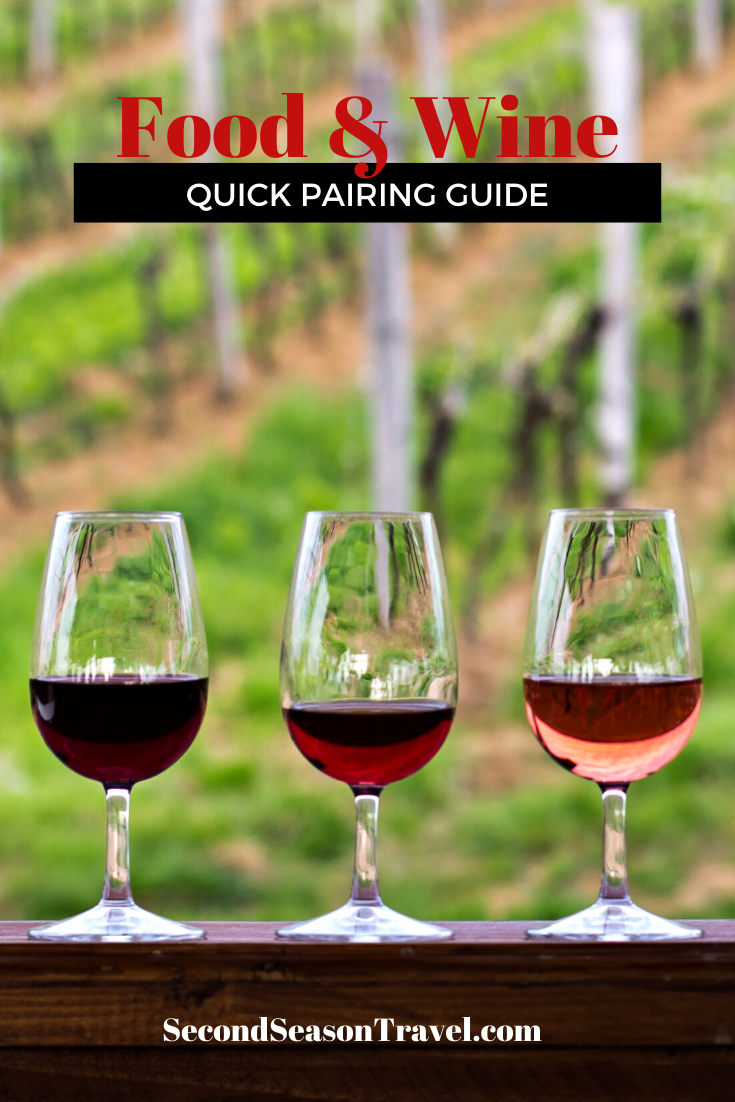 Quick Guide to Food and Wine Pairing