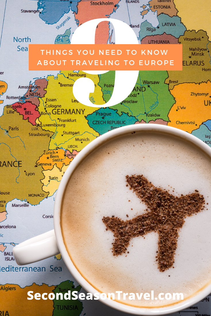 9 Things You Need To Know About Traveling to Europe