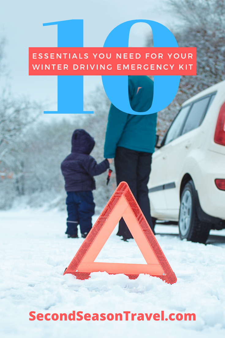 10 Essentials You Should Have in Your Winter Driving Emergency Kit